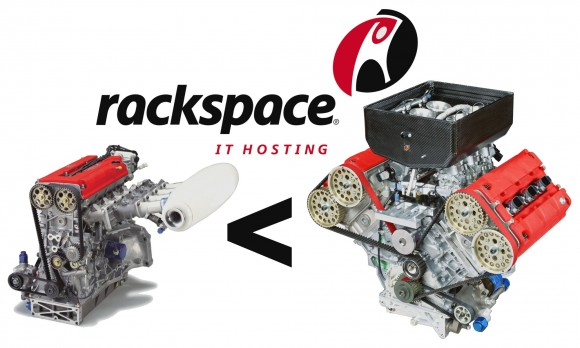 Rackspace Revs Up