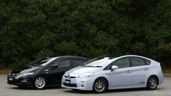 Volk Super ECO Wheels - Prius-Insight