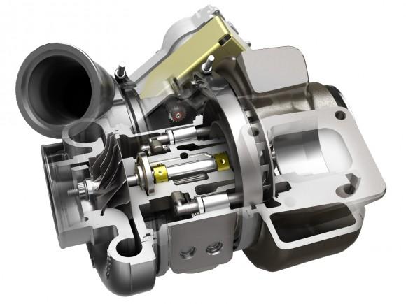 Turbo Cutaway