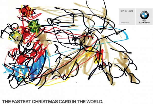 BMW Fastest Christams Card