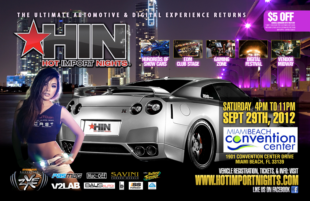 Hot Import Nights Miami 