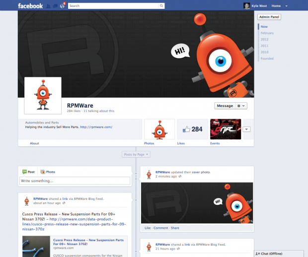 RPMWare Facebook Page