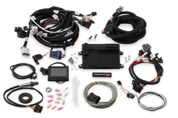 get all the great features of holley's terminator self-tuning efi in a  bolt-on system for gm's popular ls engines! control fuel, drive-by-wire &  electronic