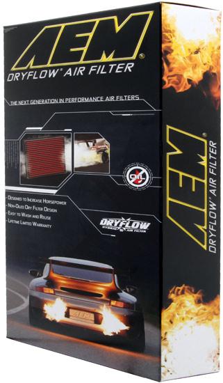 AEM Dryflow Air Panel Filter Fits 1998-2002 Camaro Firebird 3.8L 5.7L